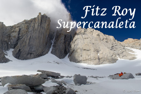 Fitz Roy Supercanaleta attempt
